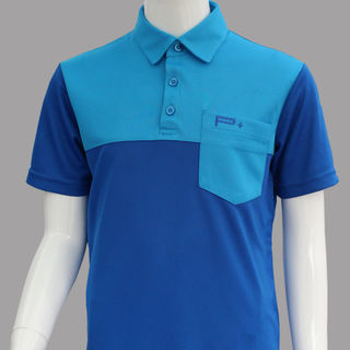 BOY POLO BLUE/LIGHT BLUE POCKET