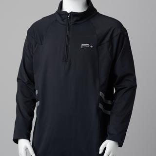 BOY LONG SLEEVE GOLF TOP BLACK