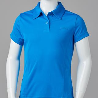 GIRL FITTED POLO BLUE