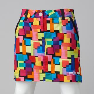 GIRLS GOLF SKORT MULTI