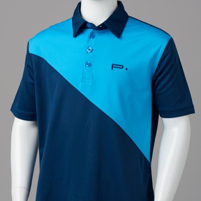 5a03018a BOYS GOLF SHIRTS - BOY POLO BLUE/LIGHT BLUE - Quality Junior Golf ...
