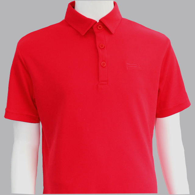 BOY POLO RED
