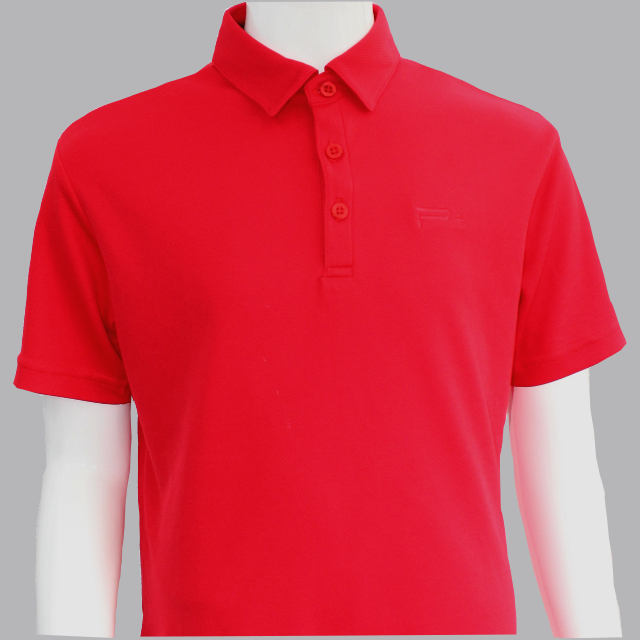 UNISEX POLO RED