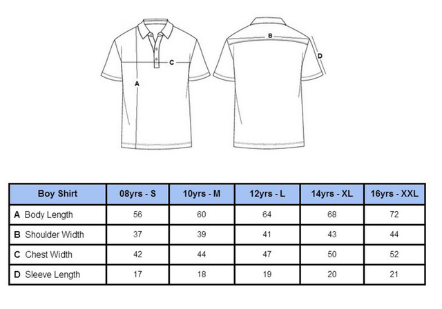 Parplus Junior Golf Shirt